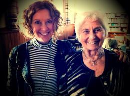 Lady Beverley Reeves and Belinda Nash