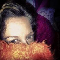 A tired Belinda Nash